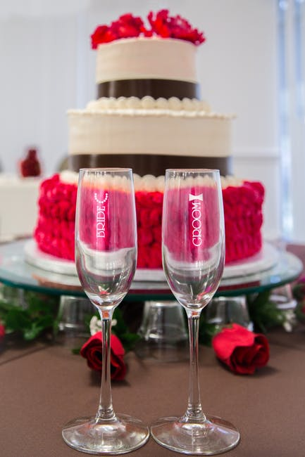 Wine Wedding Cake