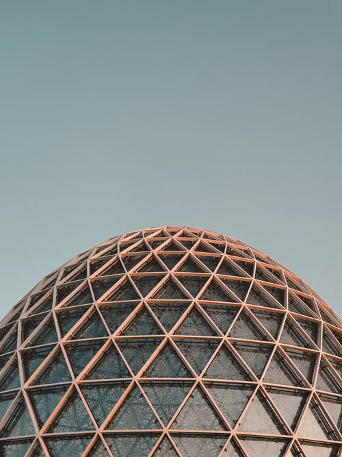 Dome Under Clear Sky