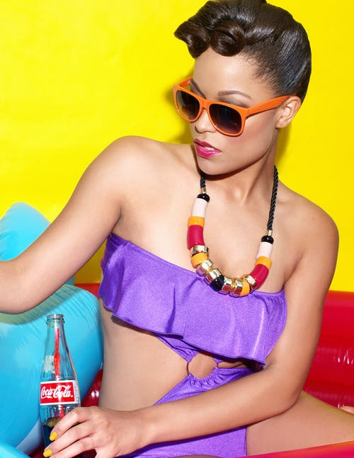 Imagine de stoc gratuită din adorabil, bikini, buze, costum de baie
