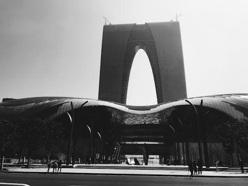 Kostnadsfri bild av arkitektur, asfalt, bw