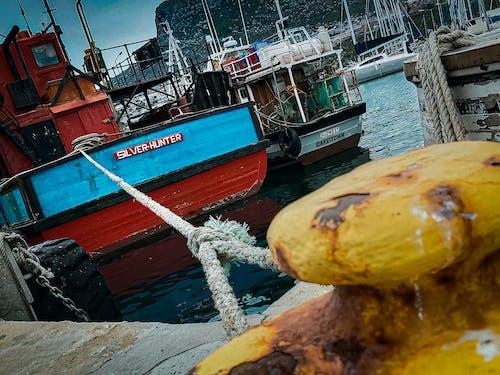 Darmowe zdjęcie z galerii z dok, kapsztad, lina, łódź