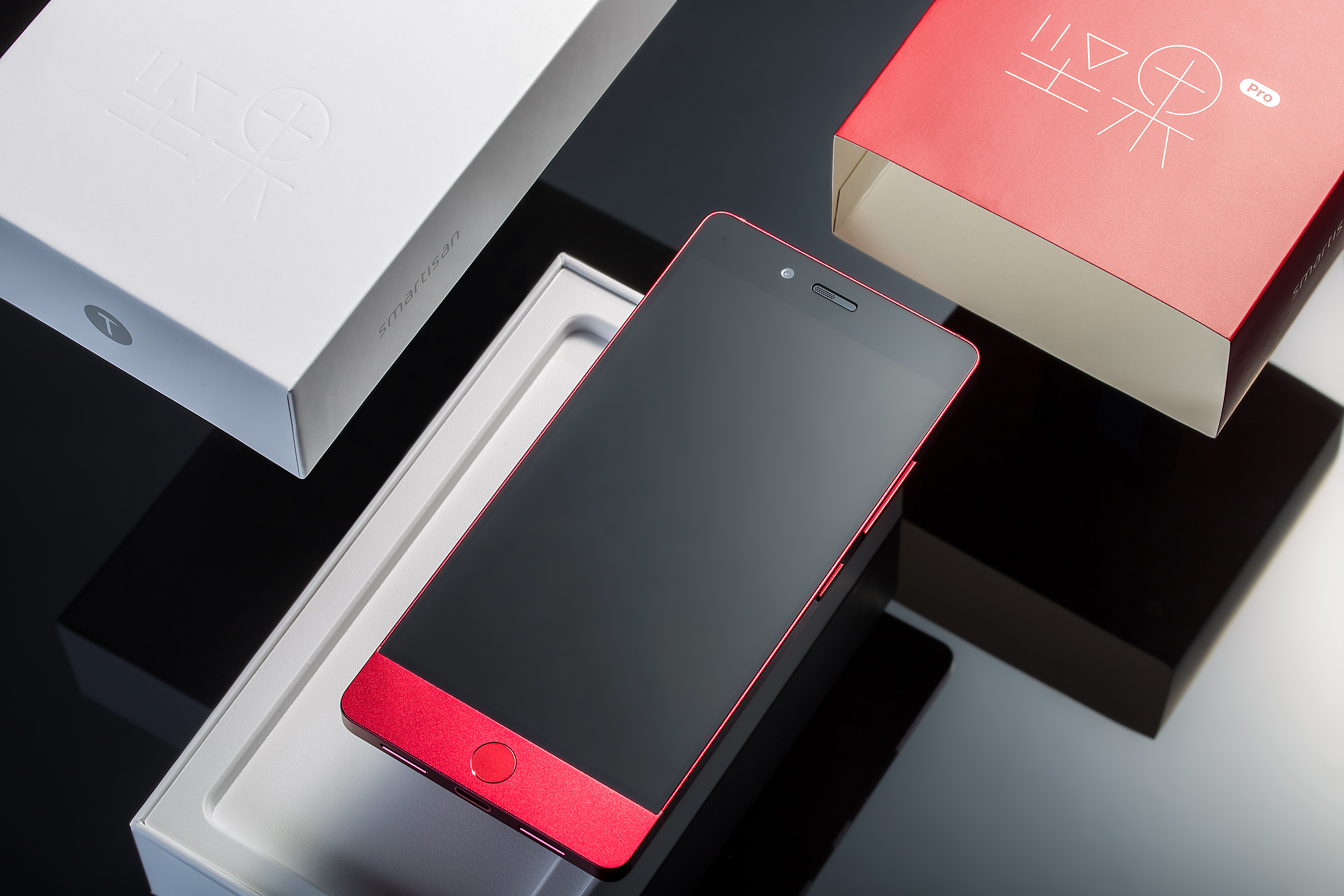 Red Phone With Box