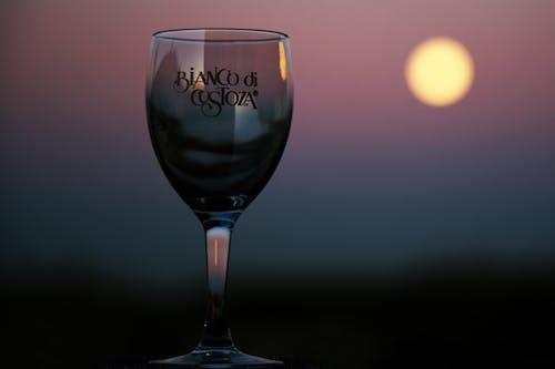 Close-Up Shot of a Wine Glass