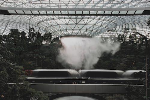 Foto stok gratis air, air terjun, Arsitektur