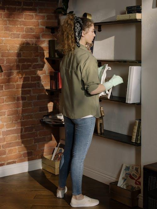 คลังภาพถ่ายฟรี ของ housecraft, housewifery, กักกัน, กางเกงยีนส์