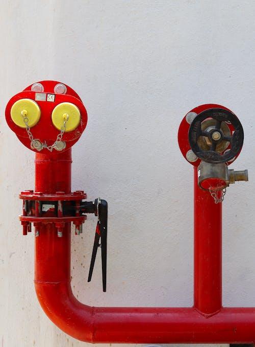 Free stock photo of fire hose, minimalism