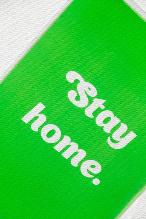 Stay Home Slogan