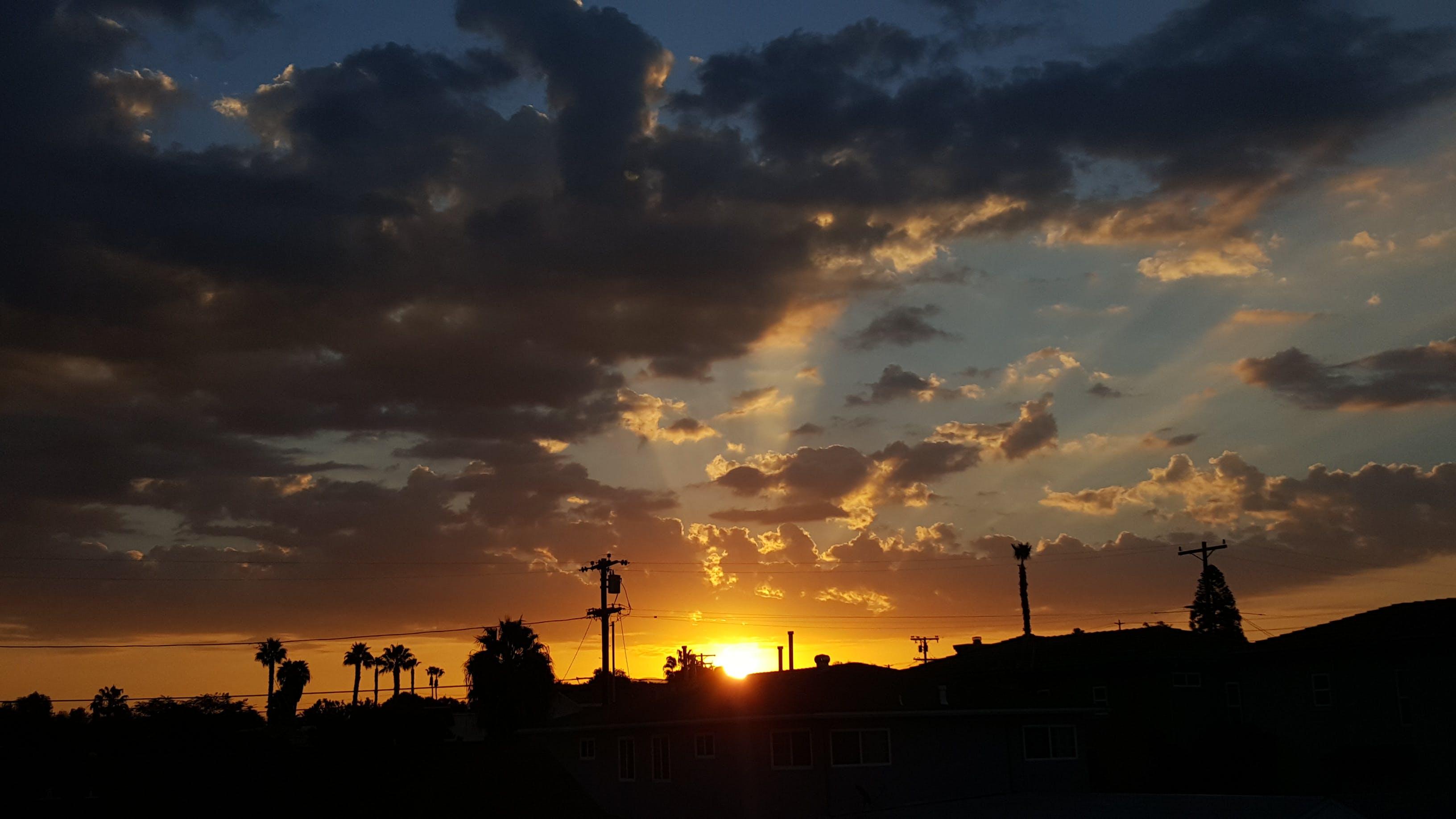 가벼운, 경치, 경치가 좋은, 구름의 무료 스톡 사진