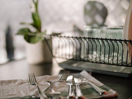 Бесплатное стоковое фото с блюда, в помещении, вилка, вилки