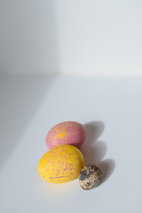 Yellow and Pink Round Fruits