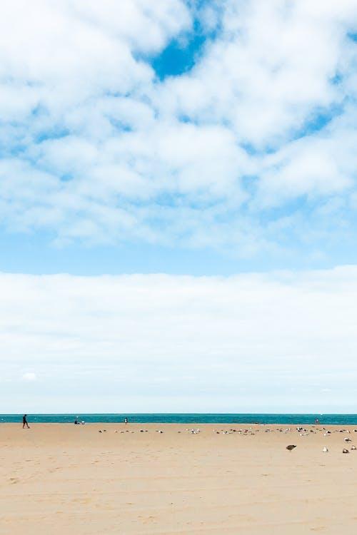 Δωρεάν στοκ φωτογραφιών με ακτή, ήρεμο νερό, θαλασσογραφία, ουρανός