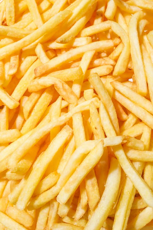 Close Up Photo of French Fries
