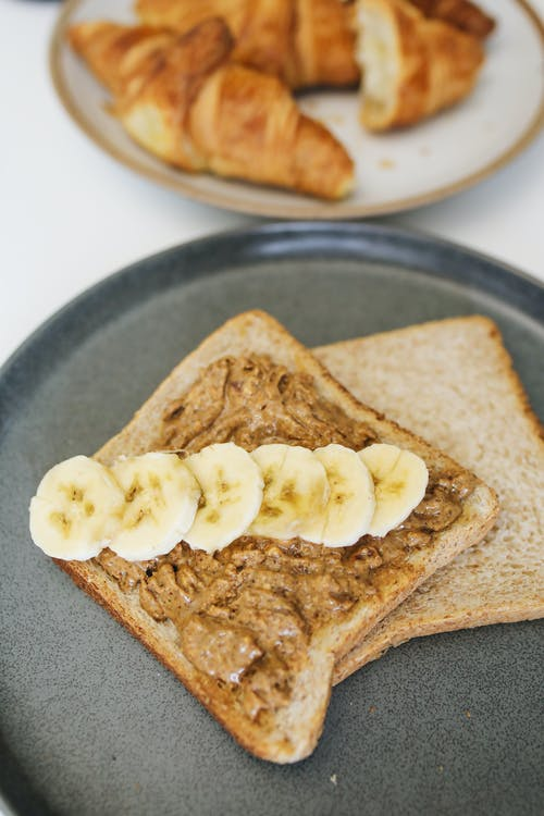 건강식품, 바나나, 빵의 무료 스톡 사진