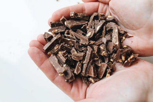 Close-Up Photo Of Sliced Chocolates