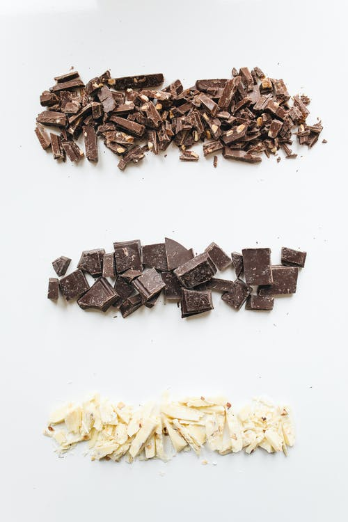 Brown and White Chocolate Bars