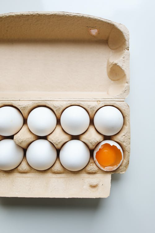 Photo Of Eggs On A Tray