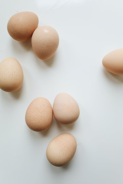 Close-Up Photo Of Brown Eggs