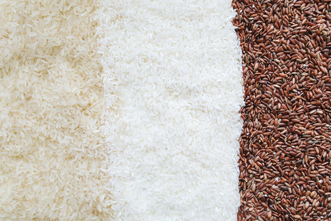 Close-Up Photo Of Assorted Rice