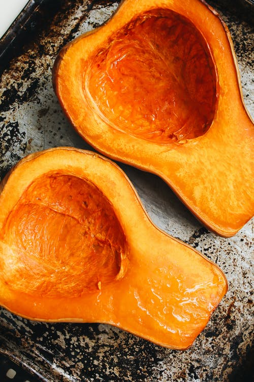 Close-Up Photo Of Toasted Squash