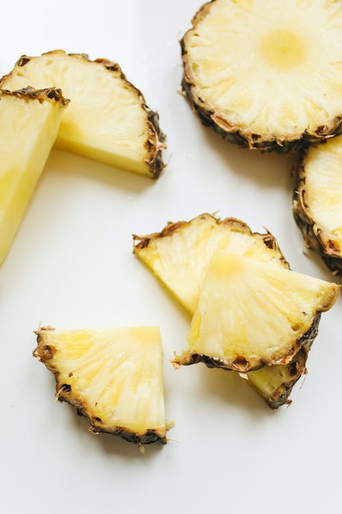 Photo Of Sliced Pineapple