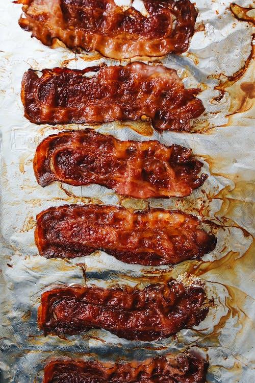 Foto d'estoc gratuïta de àpat, bacó, bacon, carn de porc