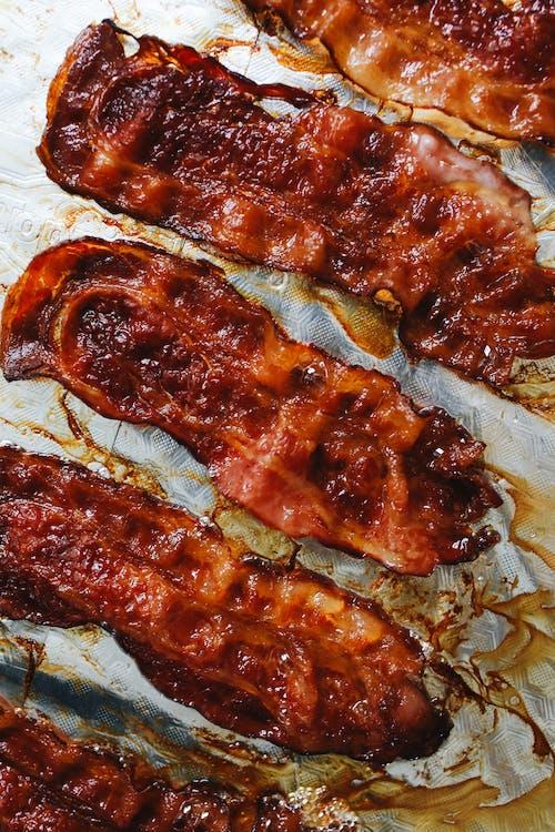 Foto d'estoc gratuïta de bacó, bacon, carn, carn de porc