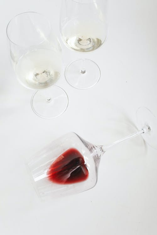 Photo Of Wine Glass With Red Liquid