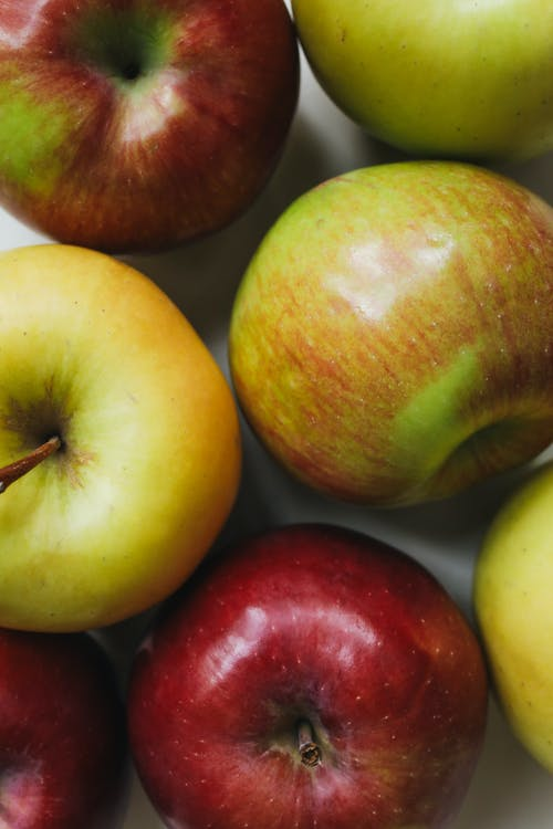 Close-Up Photo Of Apples