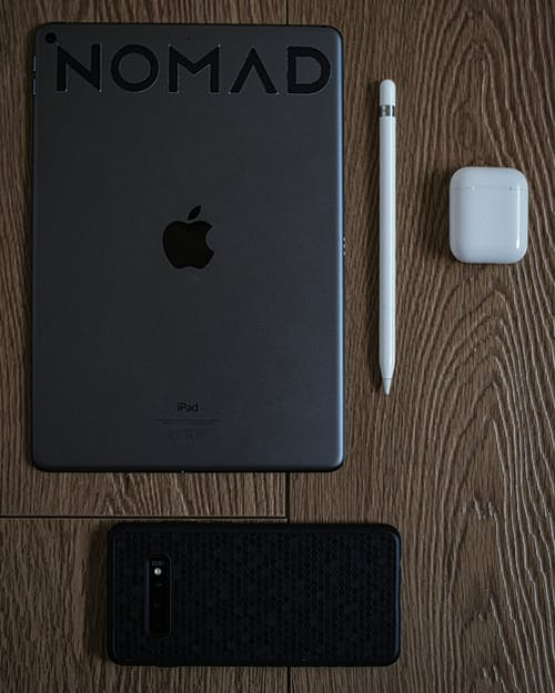 Free stock photo of airpods, apple, apple pencil, digital nomad