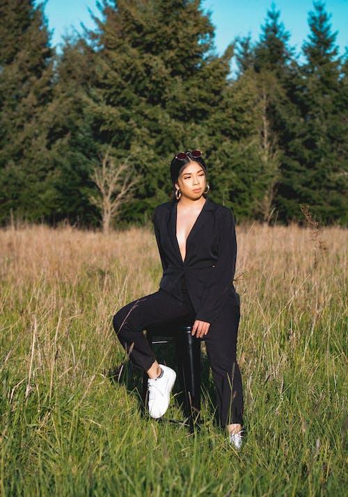 Základová fotografie zdarma na téma atraktivní, držení těla, glamour, hřiště