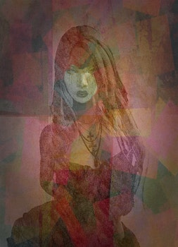 Free stock photo of woman, artwork