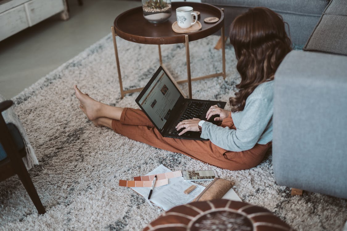 Photo Of Woman Typing On Laptop