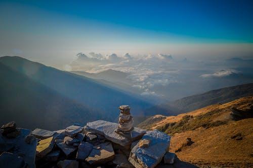 Free stock photo of above clouds, climb, cloud, kathmandu