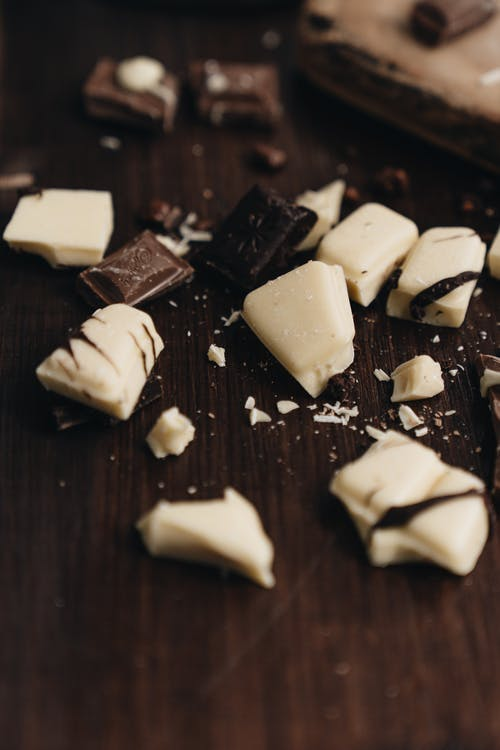 Close Up Shot of Chocolate Bars