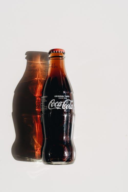 Coca Cola Zero Bottle on White Table