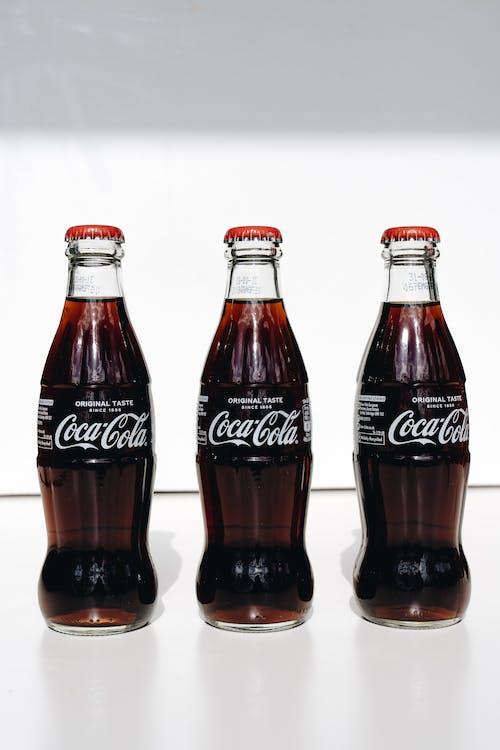 Coca Cola Zero Bottles on White Table