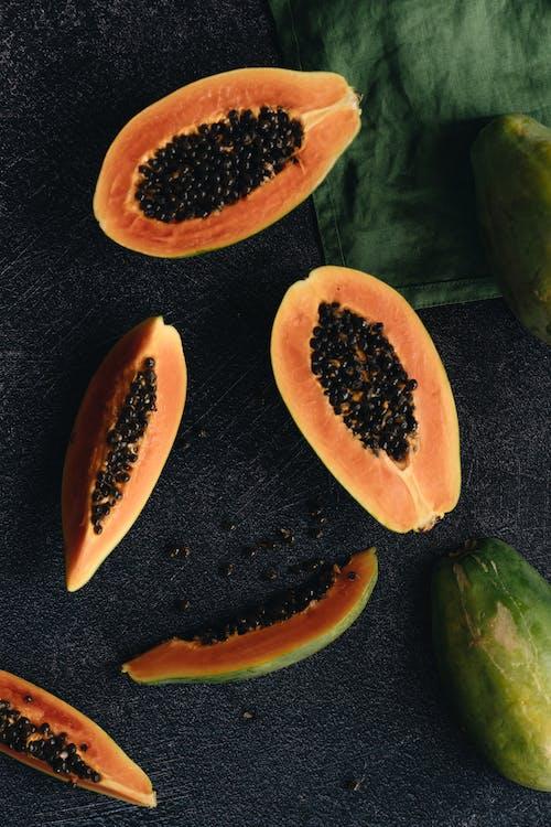Photo Of Sliced Papaya