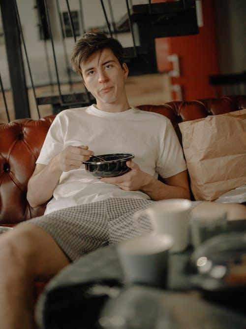 Kostnadsfri bild av ensam hemma, glas, hem