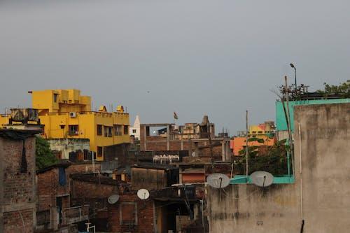 Free stock photo of city background, suburban, urban area
