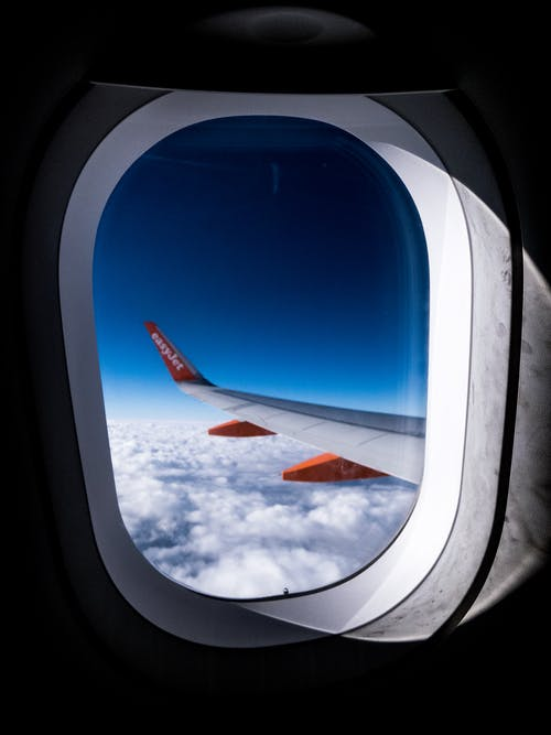 Foto stok gratis angkasa, awan, horison, horizon
