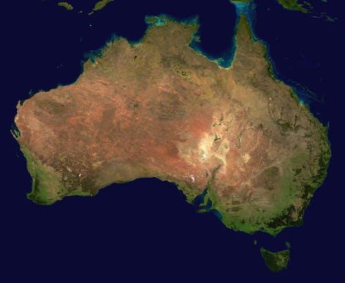 Kostnadsfri bild av flygperspektiv, geografi, Karta, kontinent