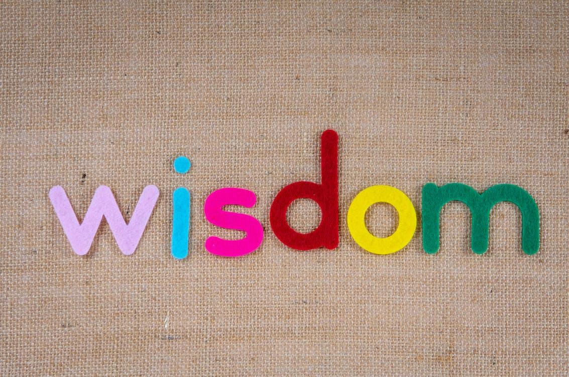 Wisdom In Colorful Cutouts