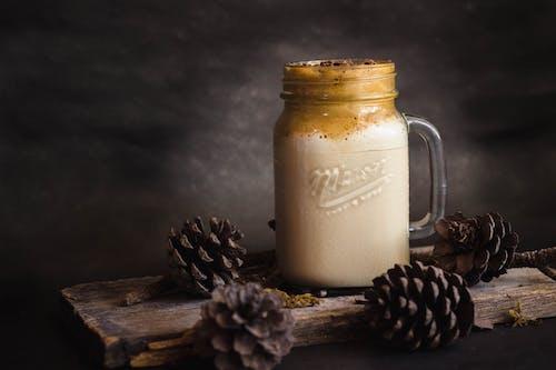 Close-Up Photo Of Dalgona Coffee