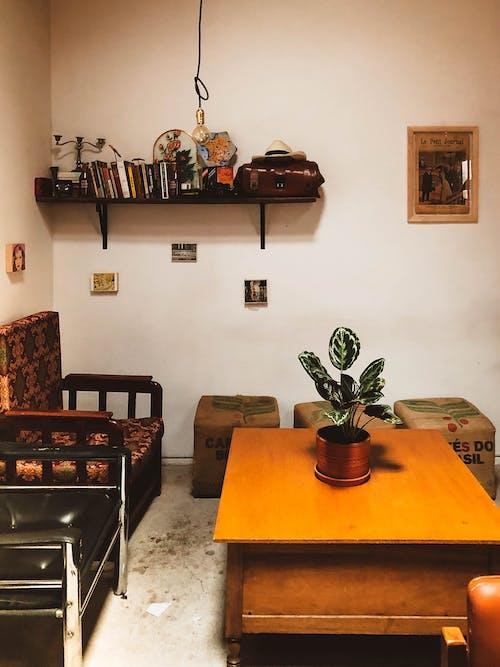 Photos gratuites de à l'intérieur, appartement, architecture, art