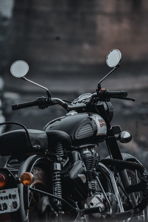 Selective Focus Photo Of Motorcycle
