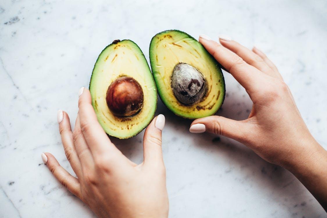 abacate, agradável, alimento, massa muscular