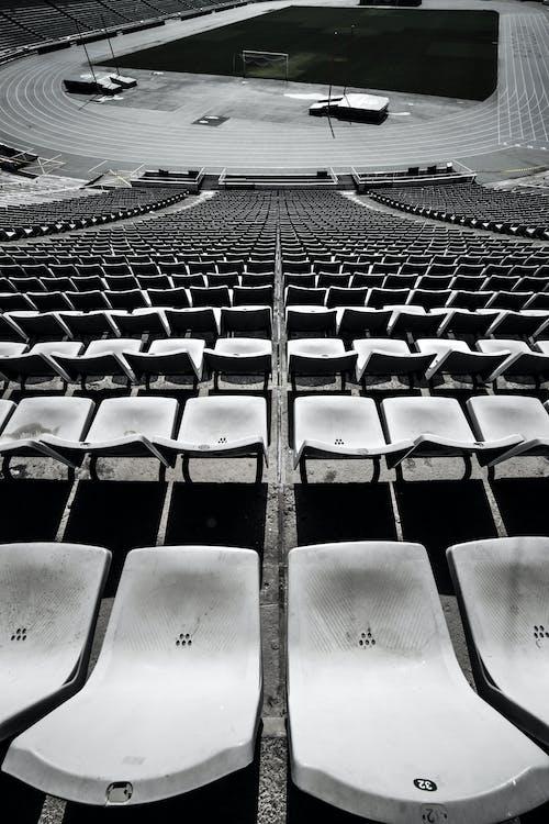 ασπρόμαυρο, καθίσματα, μαύρο και άσπρο