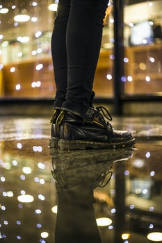 Free stock photo of fashion, person, lights, blur
