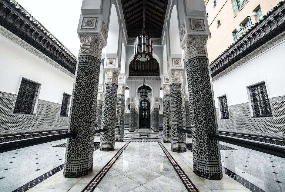 ancient, arches, architecture