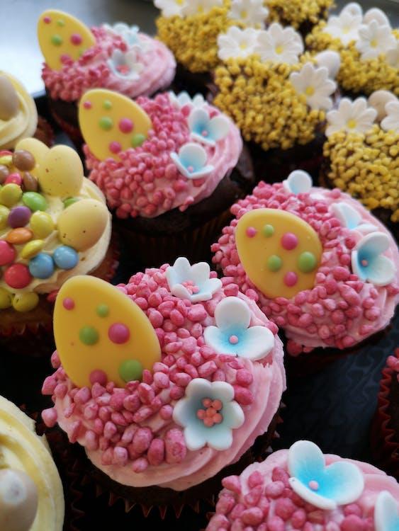 Close-Up Photo Of Cupcakes